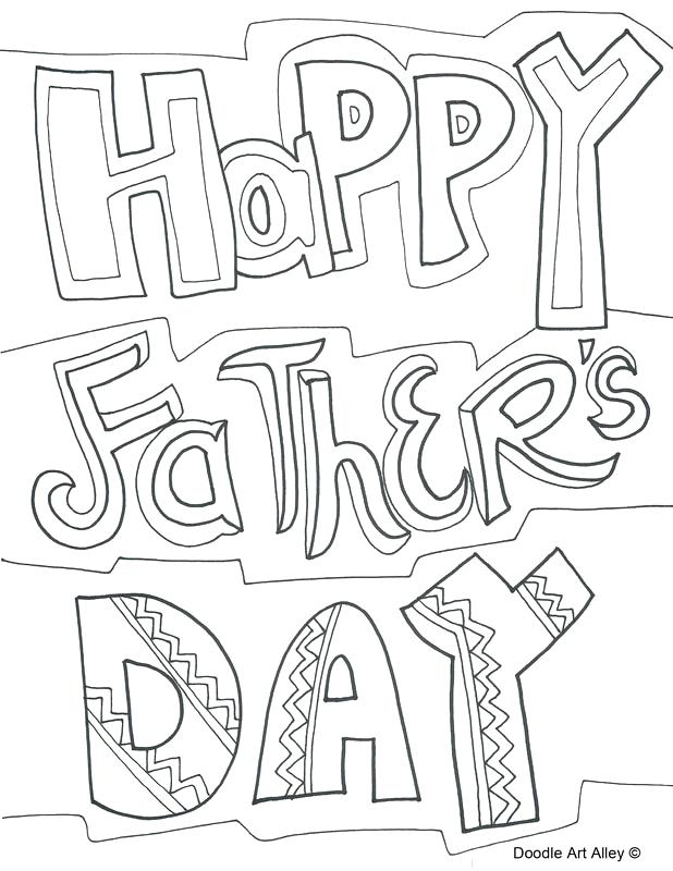 618x800 Fathers Day Coloring Pages Doodle Art Alley Fathers Day Printable