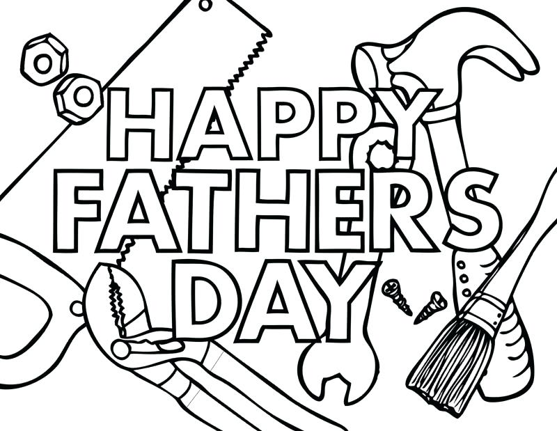 800x619 Fathers Day Coloring Pages Fathers Day Coloring Pages Printable