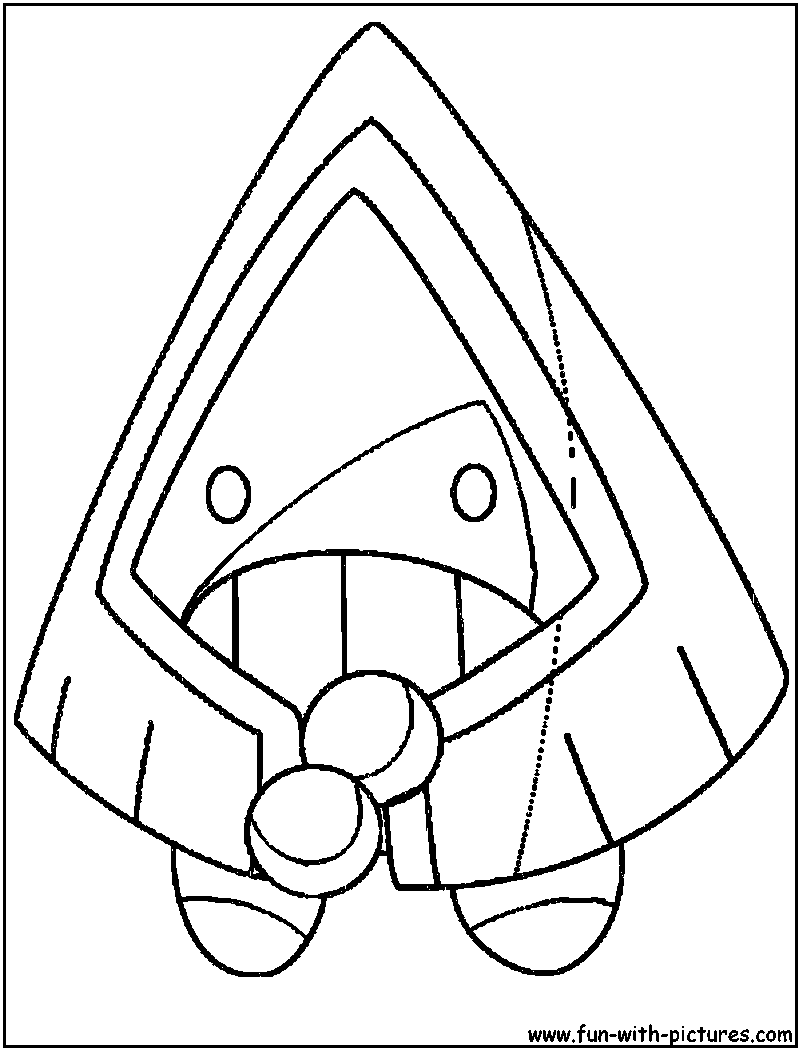 800x1050 Competitive Regice Coloring Pages Page