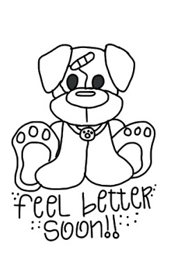 Feel Better Soon Coloring Pages Coloring Pages Kids 2019
