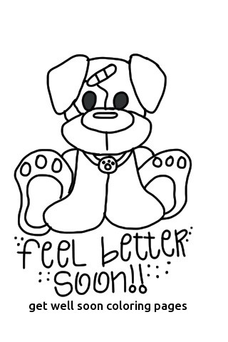 320x480 Feel Better Coloring Pages Get Well Soon Coloring Pages
