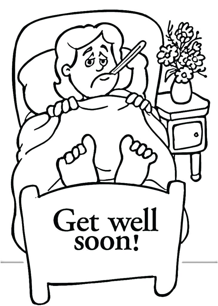 730x1024 Get Well Coloring Pages