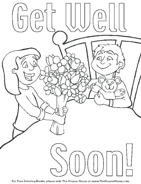 474x619 Feel Better Coloring Pages Get Well Coloring Pages Feel Better