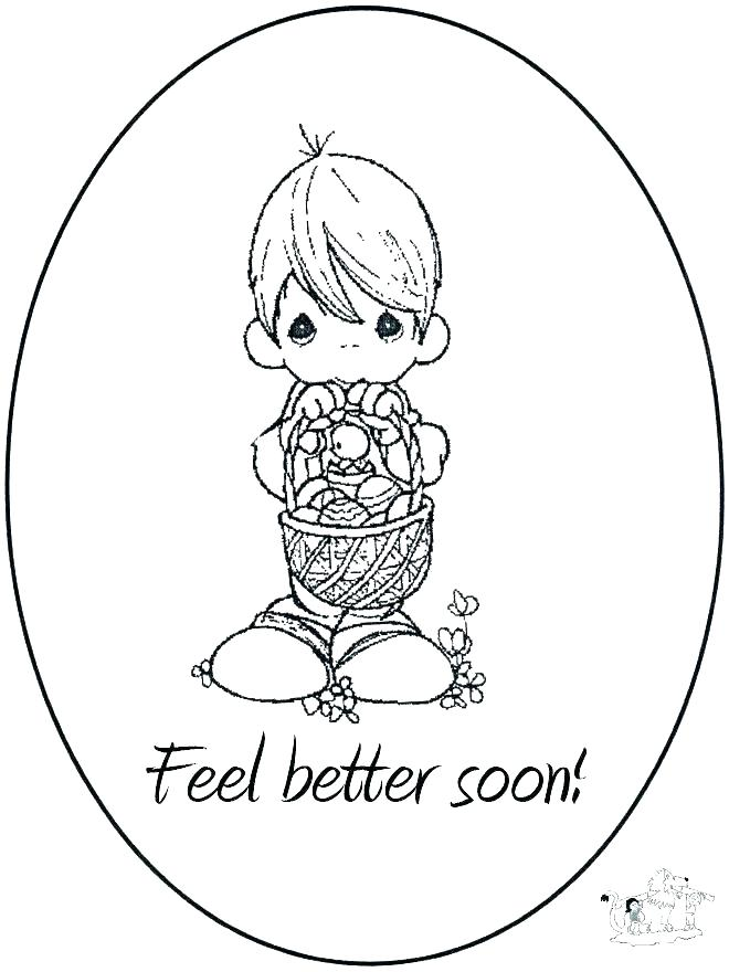 Feel Better Soon Coloring Pages