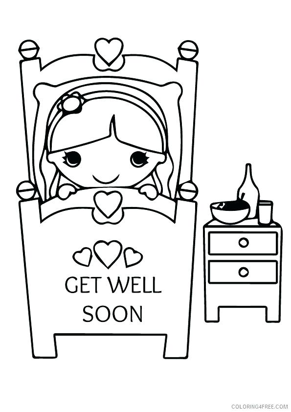 595x842 Get Well Coloring Pages Stunning Get Well Soon Coloring Pages New