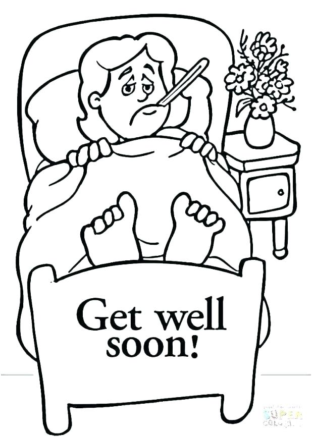 618x866 Get Well Soon Coloring Pages Division Coloring Pages Get Well
