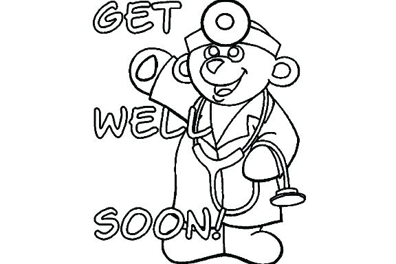 576x384 Get Well Soon Coloring Pages Get Well Coloring Pages Get Well Soon