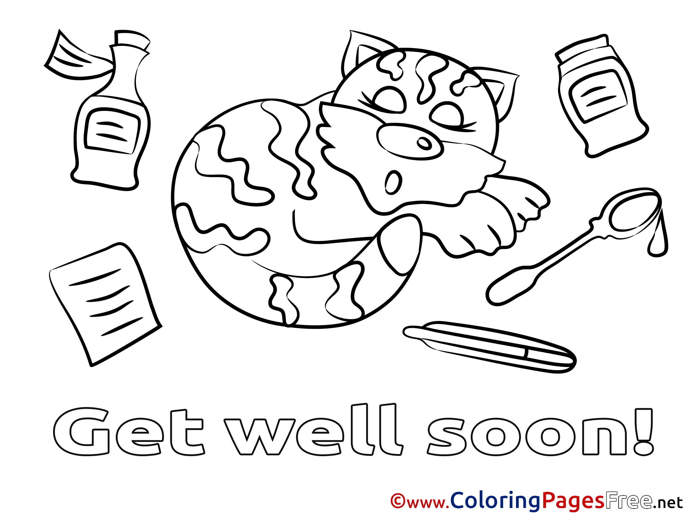 2300x1725 Get Well Soon Coloring Pages With Wallpaper Laptop New Coloring