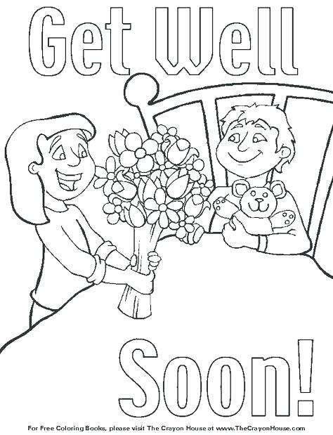 474x619 Printable Get Well Soon Card Cute Get Well Soon Coloring Pages