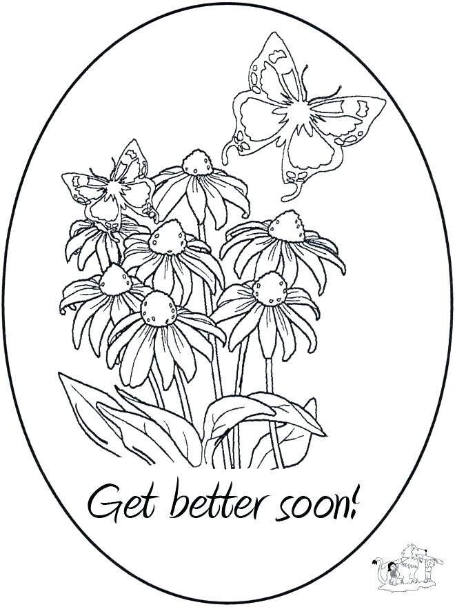 660x880 Feel Better Coloring Pages Coloring Pages I Hope You Feel Better