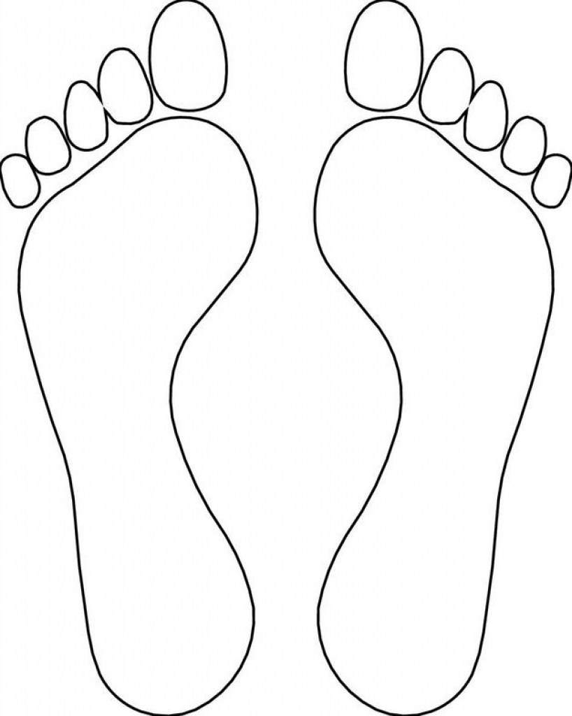 818x1024 Foot Coloring Page Feet Pages Inside Bloodbrothers Me