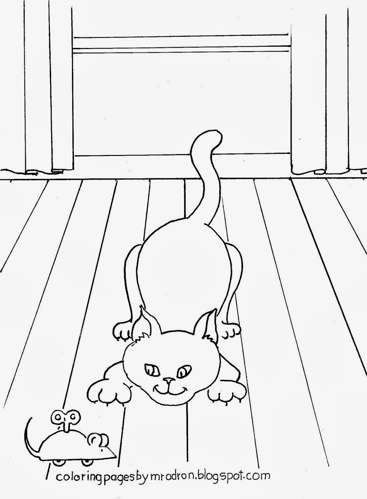 1177x1600 Sturdy Cat And Mouse Coloring Pages Felix The Page Free Printable
