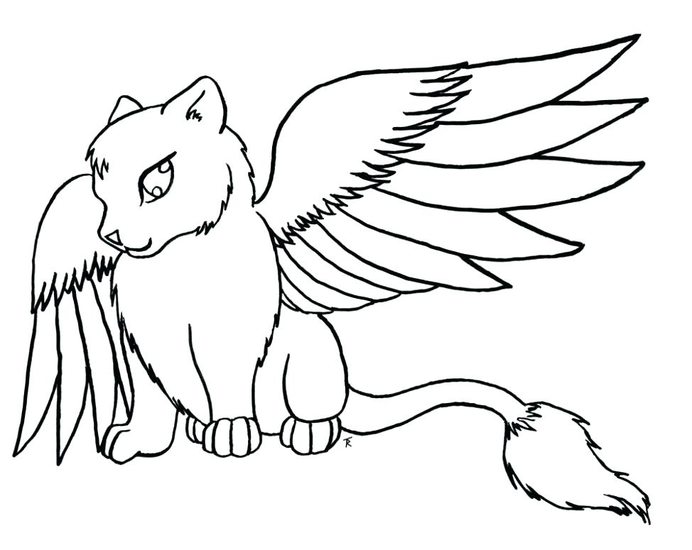 974x775 Cats Coloring Pages