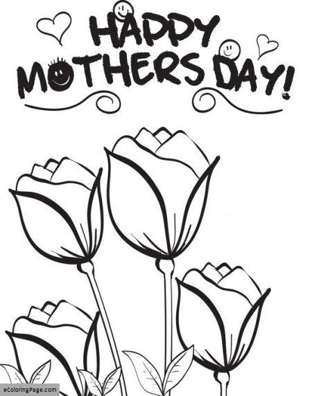 450x572 Mothers Day Coloring Pages Printable Coloring