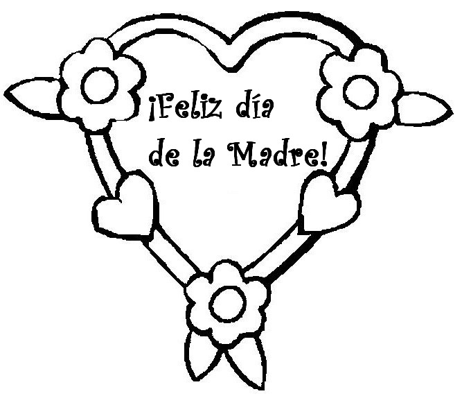 667x571 Dibujos Para El De La Madre Para Imprimir Y Colorear
