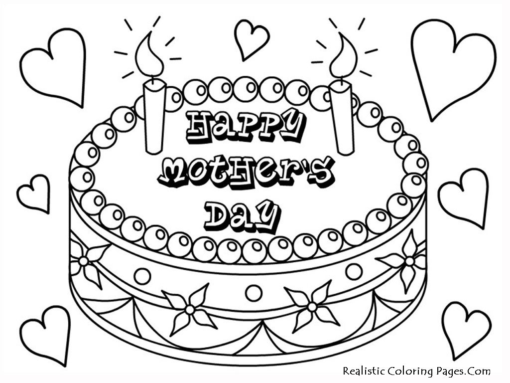 1024x768 Surging Mothers Day Coloring Pages In Spanish