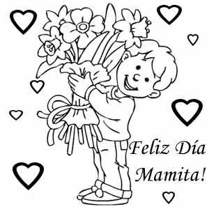 300x300 Dibujos Del Dia De La Madre Para Colorear E Imprimir Dibujos