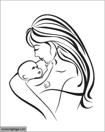 339x425 Madre Printable Coloring Pages