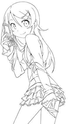 236x419 Anime Girl Coloring Nice Stunning Coloring Pages Cute Images