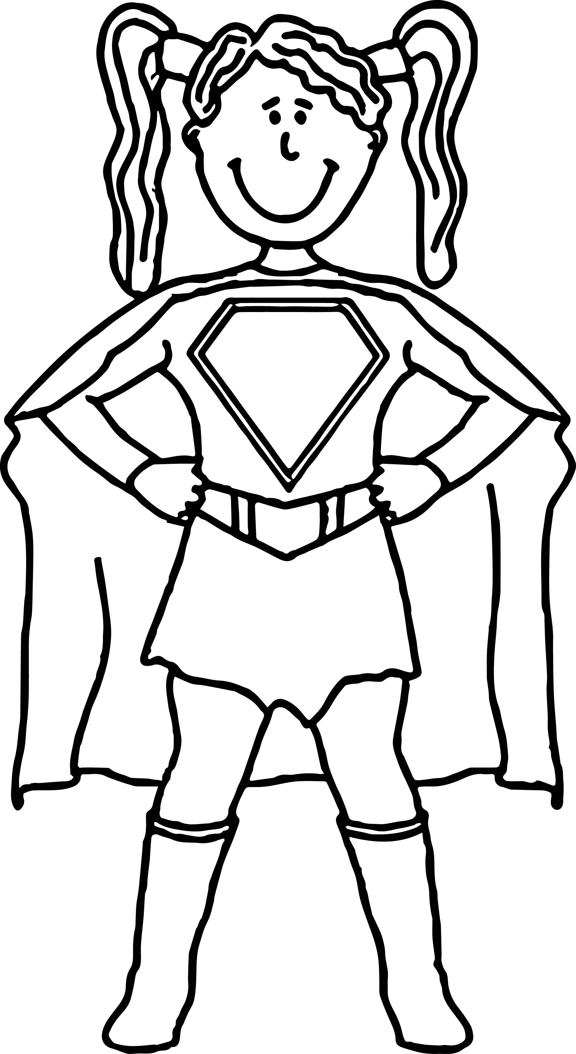 Female Coloring Pages
