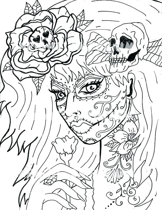 570x738 Printable Girl Coloring Pages Girl Pictures To Print Girl Coloring