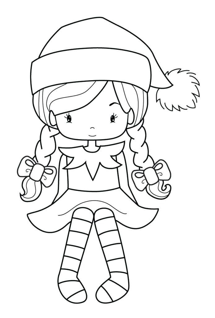 694x1024 Christmas Elf Coloring Pages Best Elf Coloring Pages Christmas