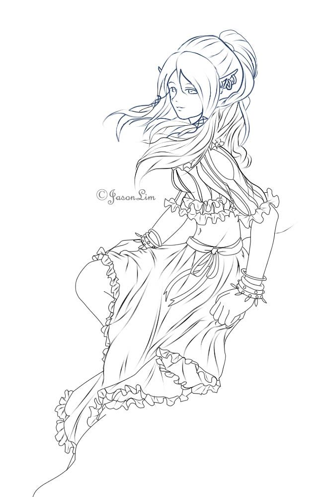 650x1000 Best Elves Images On Coloring Books, Coloring Pages