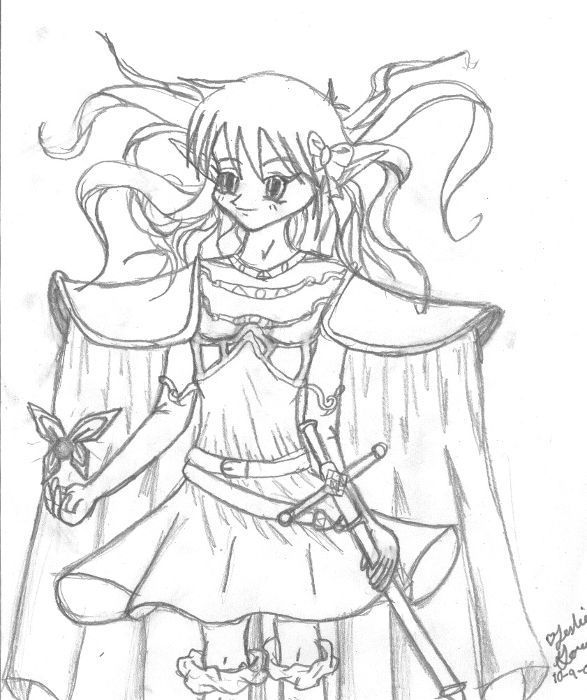 841x1002 Images Of Elf Archer Coloring Pages