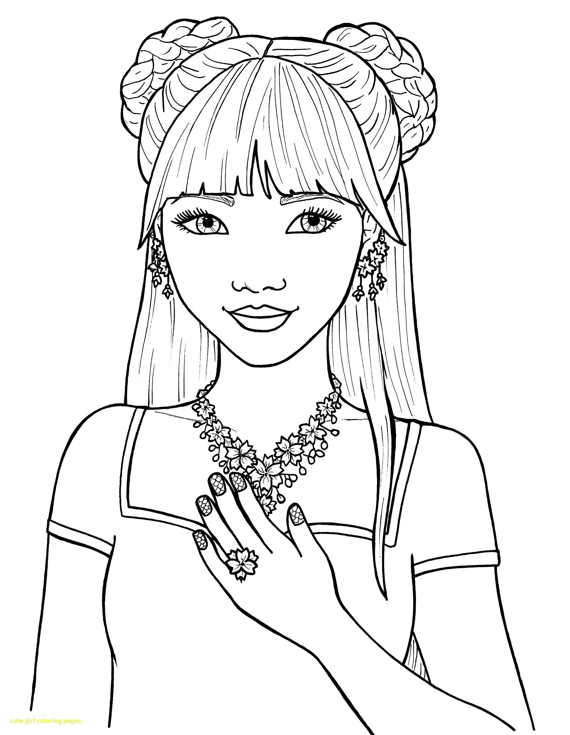 2272x2929 Female Coloring Pages Cute Girl Gambarmewarnai Me Prixducommerce