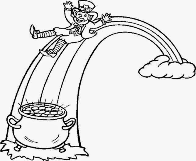 642x529 Leprechaun Pictures To Color Free Coloring Pictures