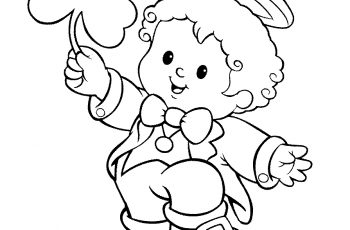 350x230 Unique Boy And Girl Coloring Pages