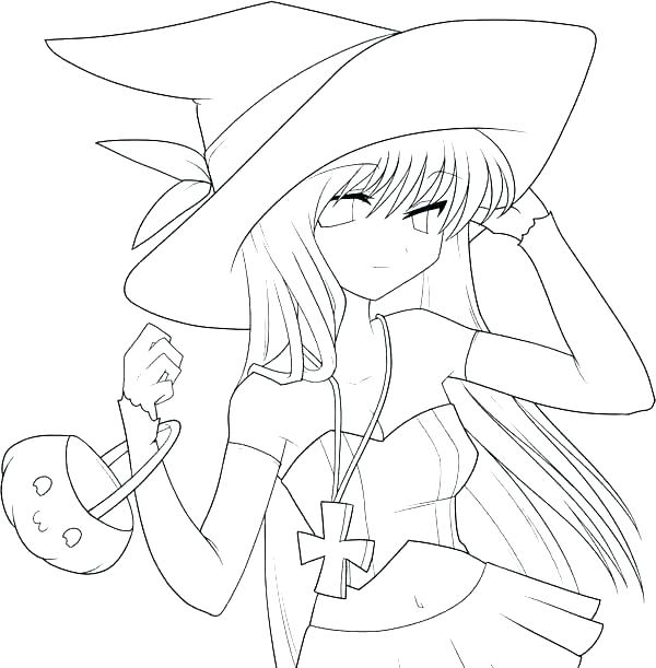600x611 Cute Girl Coloring Pages