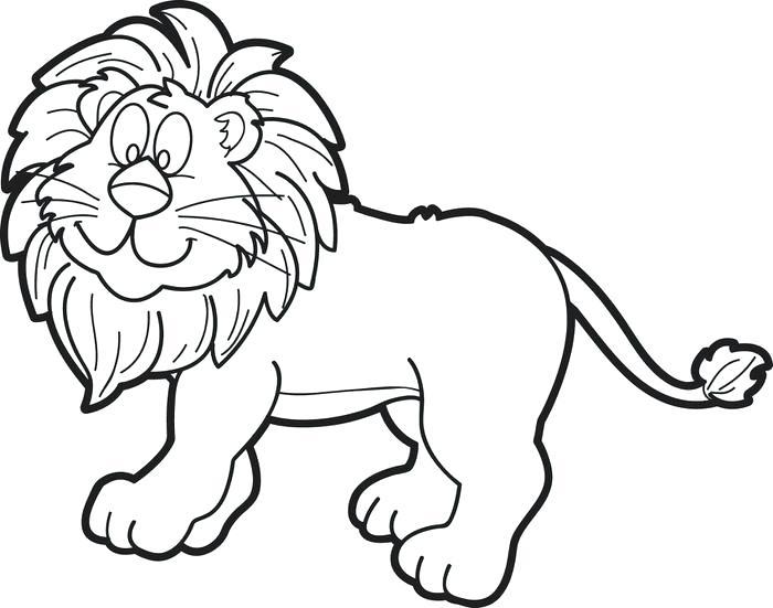 700x551 Lion Coloring Pages Female Lion Coloring Page Lion Coloring Pages