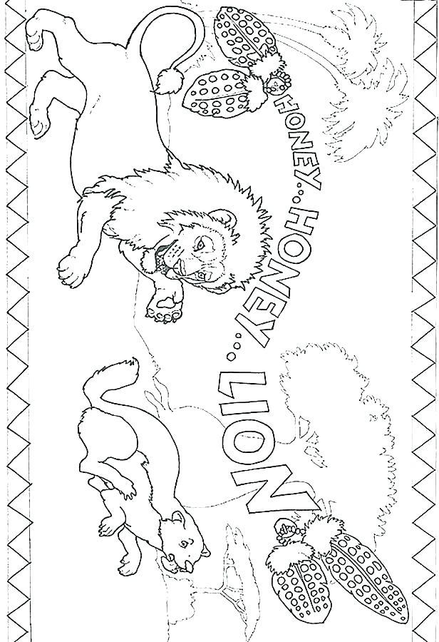 616x900 Coloring Pages Lion Female Lion Coloring Page Coloring Pages Lion