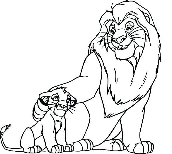 587x526 Coloring Pages Lions Lion Coloring Sheets Female Lion Coloring