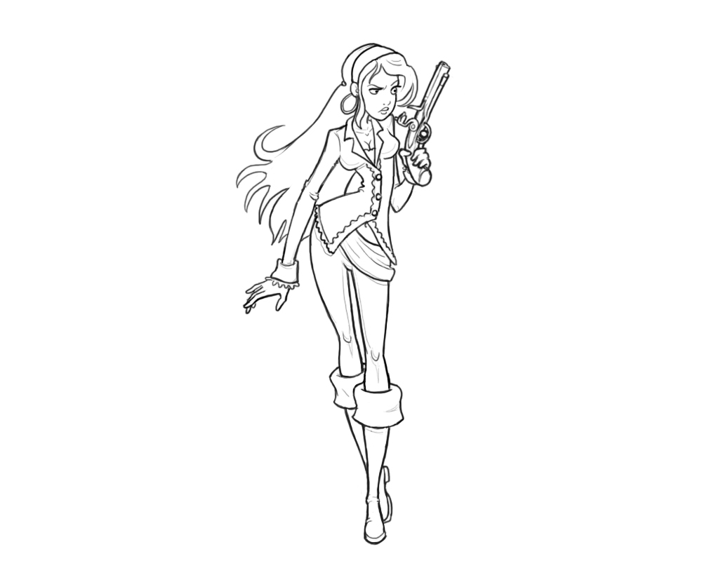 1000x800 The Best Girl Pirate Coloring Pages Image Collections Girl