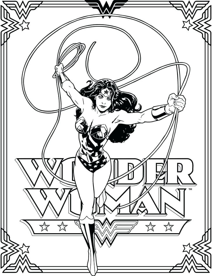 727x947 Woman Coloring Pages Coloring Pages For Kids Woman Superhero
