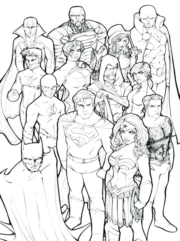 750x1000 Little Girl Superhero Coloring Pages