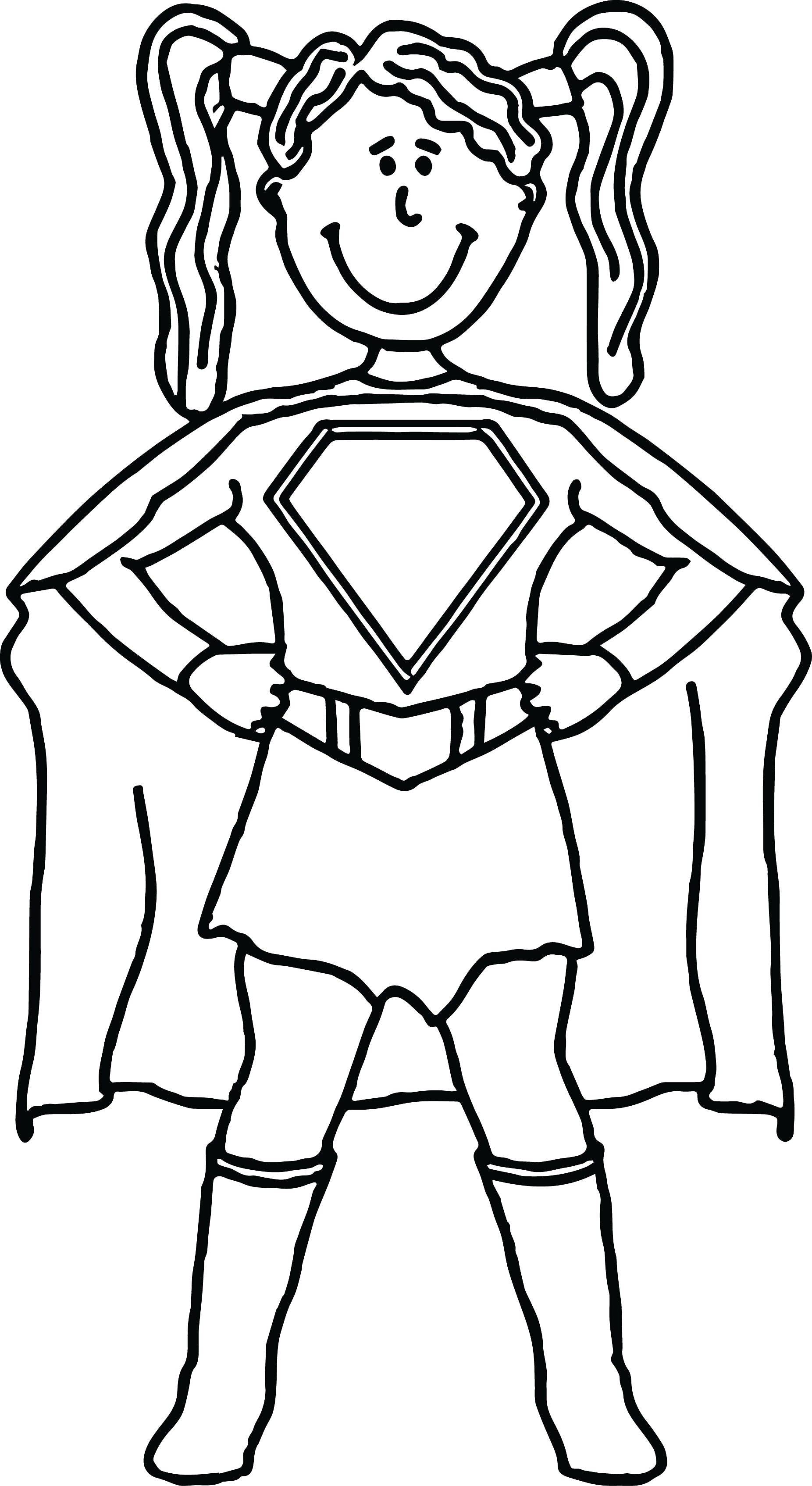 1852x3388 Female Superhero Coloring Pages Freecolorngpages Co Best Of Qqa Me