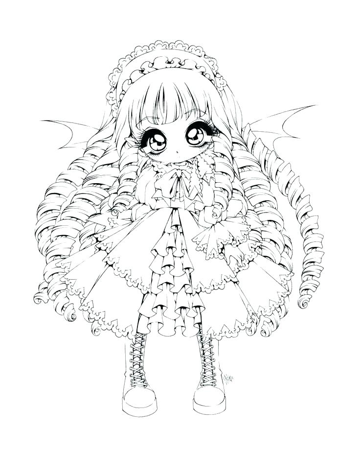 736x929 Vampire Girl Coloring Pages