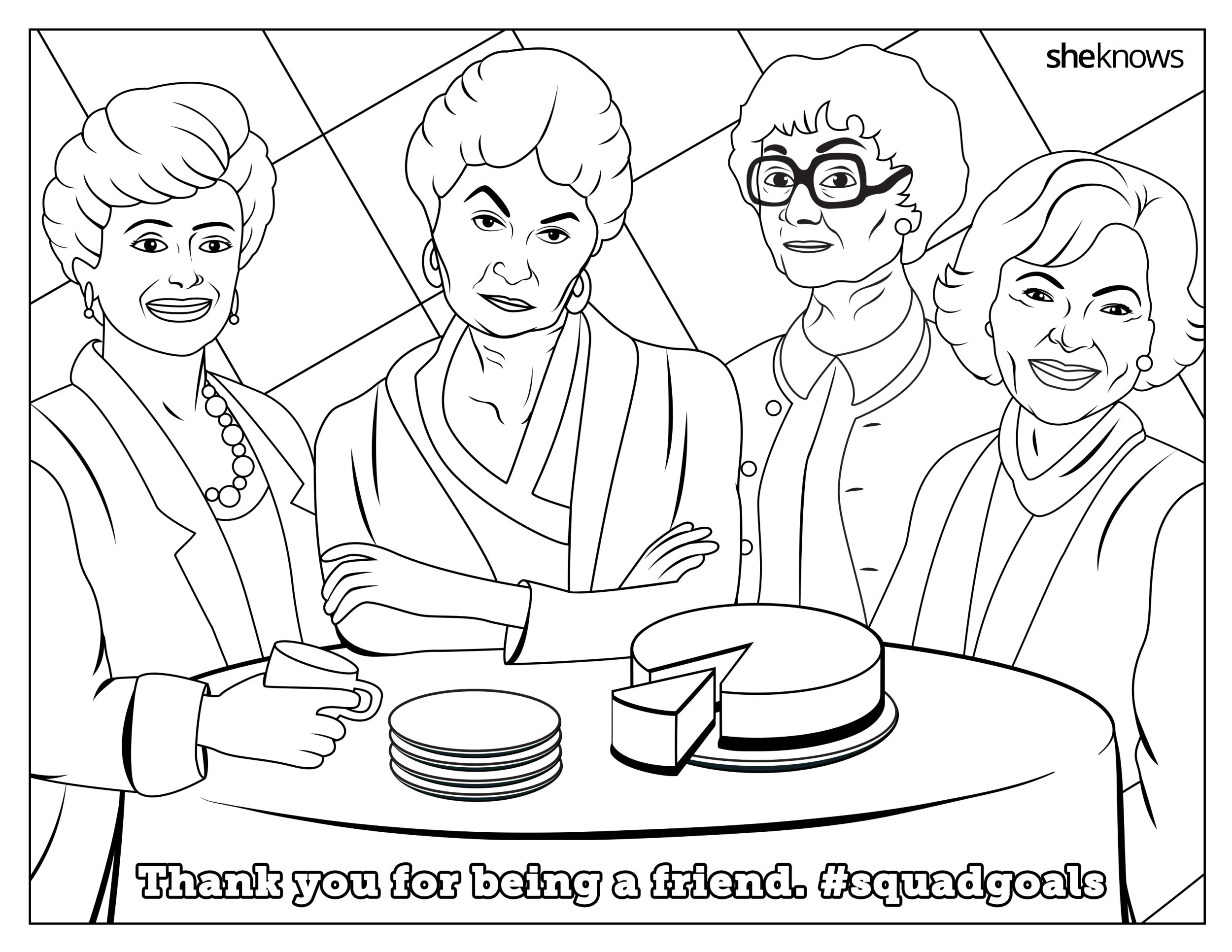 Feminist Coloring Pages Free