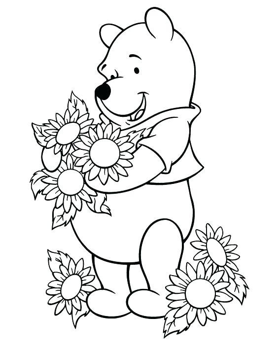 564x714 Sunflower Coloring Page Sunflower Coloring Pages Printable