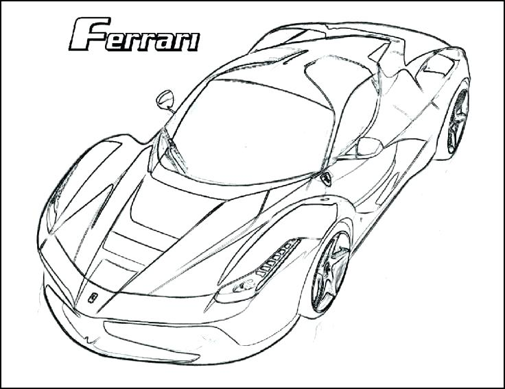 736x568 Ferrari Italia Coloring Pages Cars Online Cool Buddy Mike