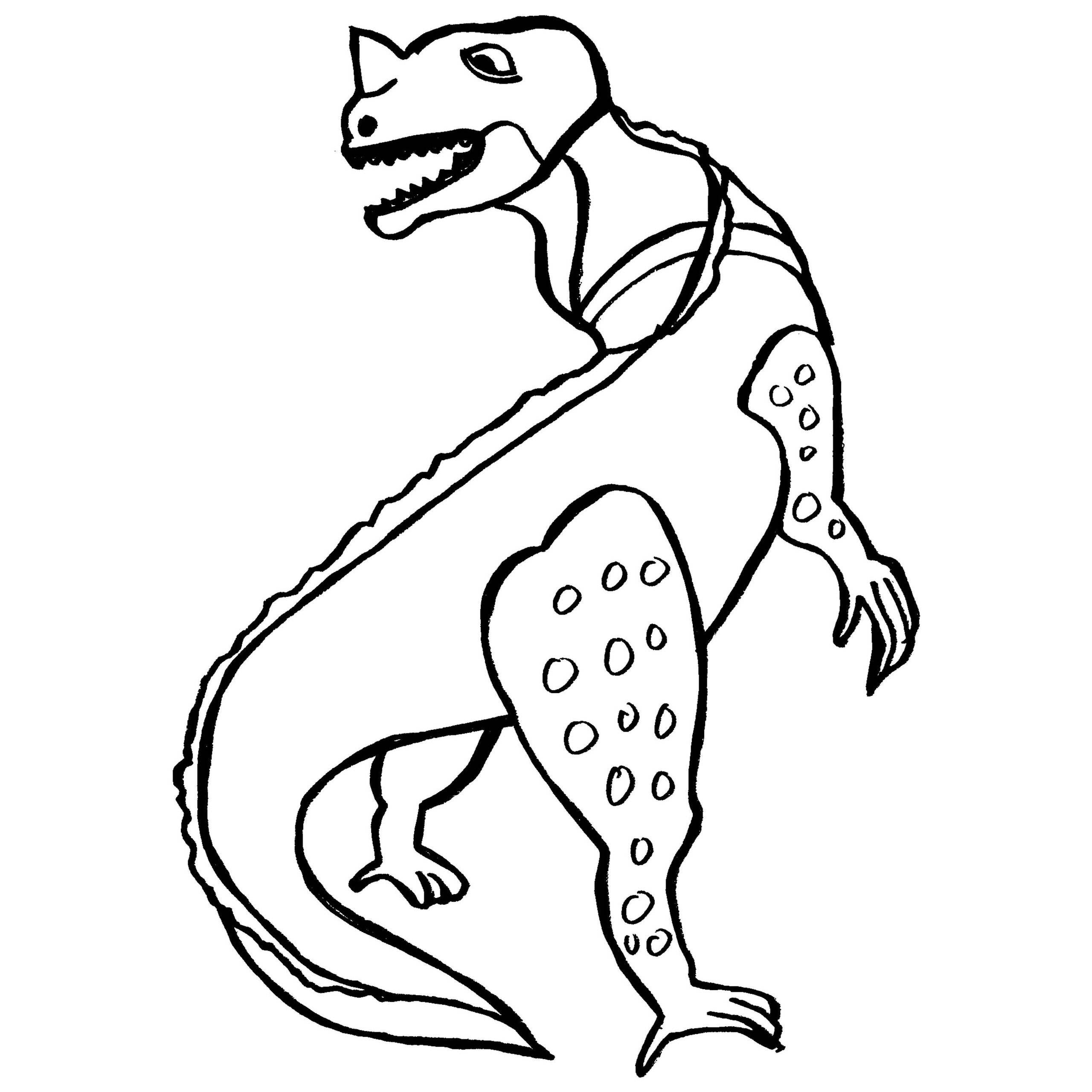 2560x2560 Ceratosaurus Coloring Pages Free Coloring For Kids