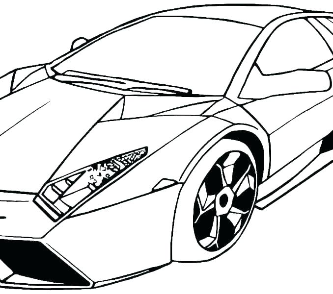 678x600 Free Printable Car Coloring Pages Great Cool Car Coloring Pages