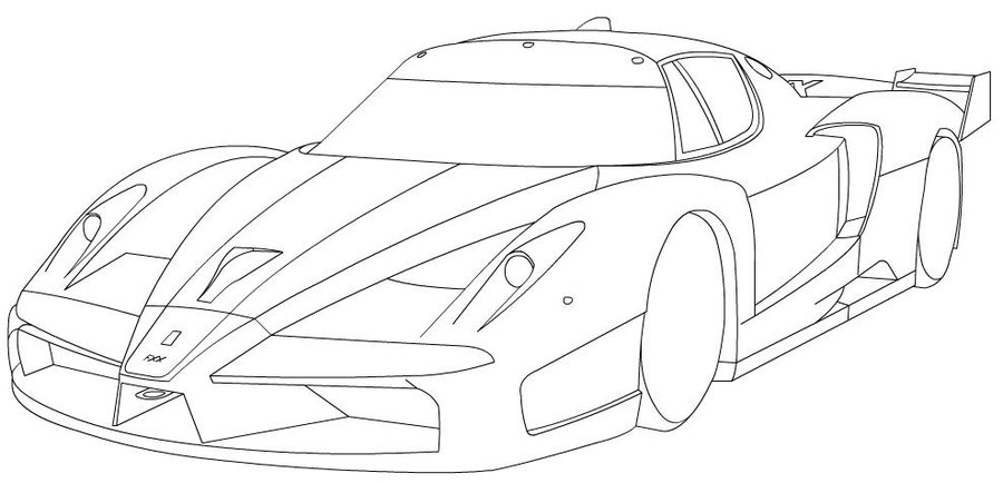 900x434 Fxx Coloring Pages
