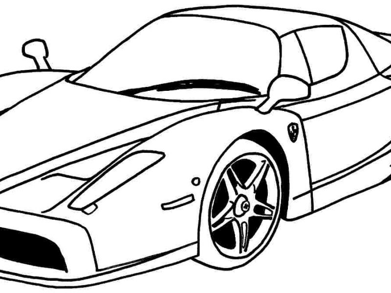 800x600 Interesting Ideas Sports Car Coloring Pages Sensational Design