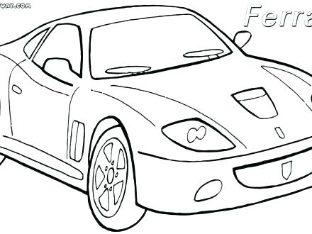 440x330 Ferrari Coloring Pages Coloring Pages Cars Car To Download