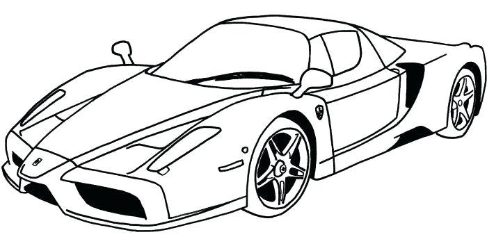 700x341 Ferrari Coloring Pages Sport Car Coloring Page Ferrari Fxx