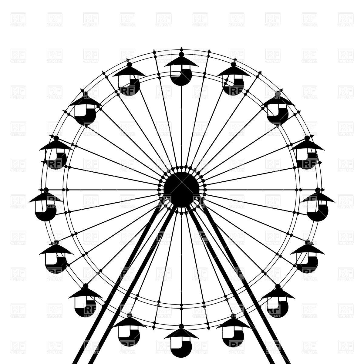 1200x1200 Ferris Wheel Clipart Funny Many Interesting Cliparts